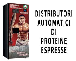 Distributori automatici di proteine a Roma